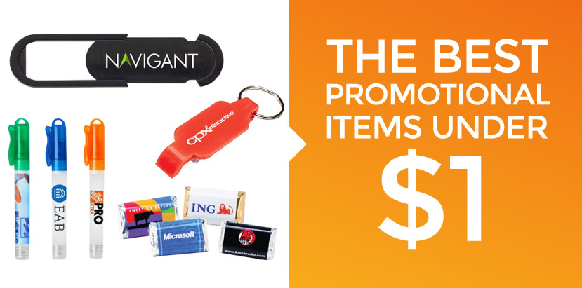 Best Promotional Items Under $1