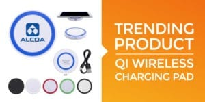 Promotional Qi Wireless Charging Pad