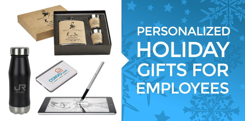 Corporate holiday gifts and personalized christmas gifts for