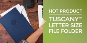 Tuscany Custom File Folder